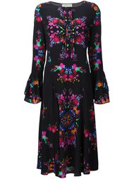floral print dress Nicole Miller