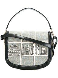 полукруглая сумка через плечо  Olympia Le-Tan