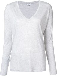 v-neck longsleeved T-shirt Vince