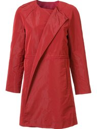 collarless coat Lafayette 148