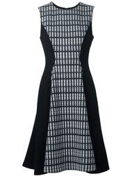 sleeveless flared dress Lela Rose