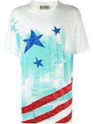 футболка с принтом полосок и звезд Faith Connexion