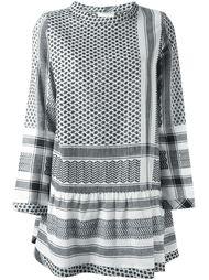 платье мини с плетеным узором Cecilie Copenhagen