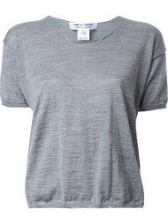футболка плотной вязки Comme Des Garçons Comme Des Garçons
