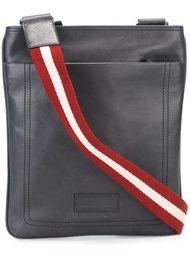 сумка-почтальонка с полосатой лямкой Bally