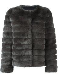 укороченная меховая куртка Meteo By Yves Salomon