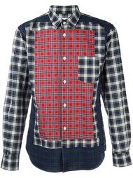 рубашка в клетку Comme Des Garçons Shirt Boy