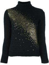 свитер с украшениями Saint Laurent