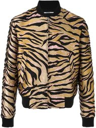 куртка-бомбер с тигровым принтом  Kenzo