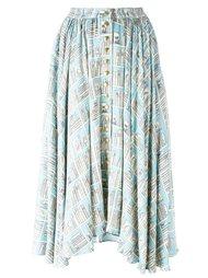 пышная юбка с графическим принтом Olympia Le-Tan