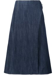 midi wrap skirt Adam Lippes