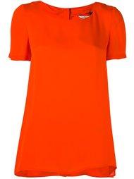футболка с пуговичной планкой сзади Diane Von Furstenberg