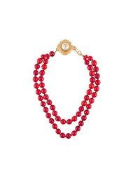 ожерелье из стекла Chanel Vintage
