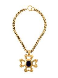 чокер с кулоном 'gripoix' Chanel Vintage