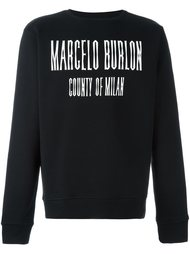 толстовка 'El Misti' Marcelo Burlon County Of Milan