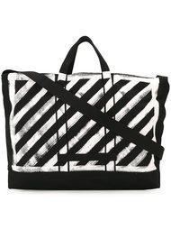 полосатая сумка-тоут Off-White