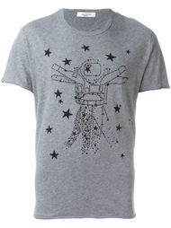 футболка с космическим принтом Valentino