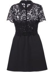платье с кружевными панелями Valentino