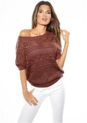 Ажурный пуловер Rick Cardona