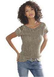 Пуловер с короткими рукавами Linea Tesini
