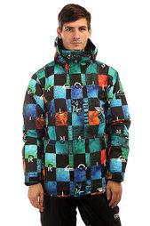 Куртка утепленная Quiksilver Mission Print Chakalapaki Origin