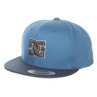 Бейсболка с прямым козырьком детская DC Shoes Snappy Boy Hats Copen Blue