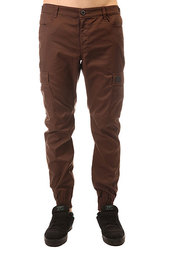 Штаны прямые Skills Chino Pockets Strap Brown