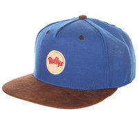Бейсболка с прямым козырьком TrueSpin Ruffys Blue