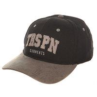 Бейсболка классическая TrueSpin Round Visor Trspn Fleece 01 Black