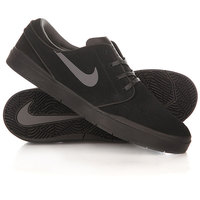 Кеды кроссовки низкие Nike Stefan Janoski Hyperfeel Black/Black/Anthracite