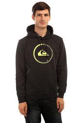 Толстовка кенгуру Quiksilver Big Logo Hood Black