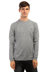 Толстовка классическая Quiksilver Lindow Crew Swtr Dark Denim Heather