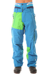Штаны сноубордические Picture Organic Door Pant Blue/Black Membrane