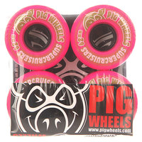 Колеса для скейтборда для скейтборда Pig Supercruiser Ii Pink 85A 62 mm