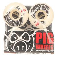 Колеса для скейтборда для скейтборда Pig Head Natural 101A 51 mm