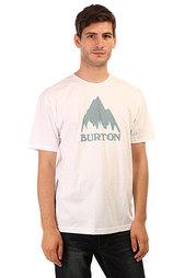 Футболка Burton Mns Mtn Logo Stout White