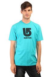 Футболка Burton Mns Lgo Vertical Gulfstream