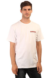 Футболка Quiksilver Am Ss Tee Peace Pipe White