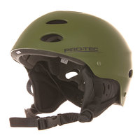Шлем для скейтборда Pro-Tec Ace Wake Rubber Army Green