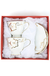 Набор чайных пар 2 шт Коралл