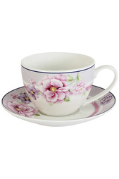 """Чашка с блюдцем 0,2 л , """"Цветочная феерия"""" Primavera"""