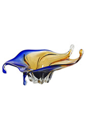 Стеклянная ваза 25 см Garda Decor