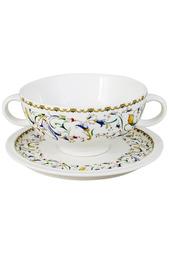 Суповая чашка на блюдце 0,5 л IMARI