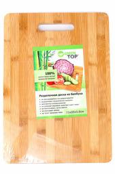 Доска разделочная 35х25 Green Top