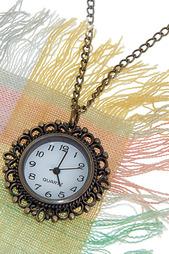 Кулон-часы Классика в бронзе MITYA VESELKOV