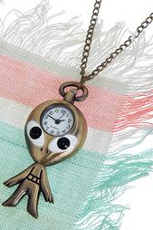 Кулон-часы Гуманоша MITYA VESELKOV