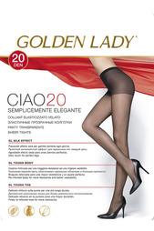 Колготки 20den ТЕМНО-БЕЖ GOLDEN LADY