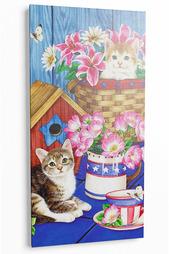 "Картина ""Котята в корзинках"" Pannorama"