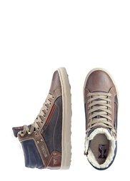 Высокие кеды (темно-коричневый) Bonprix