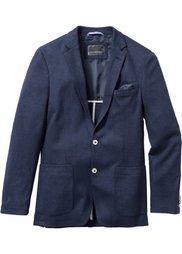 Пиджак Slim Fit из структурного материала (серый) Bonprix